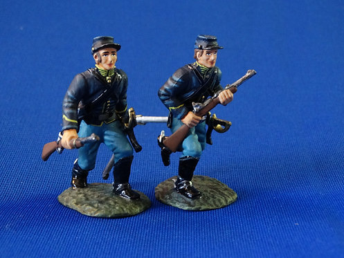 CORD-1152 - Union Dismounted Cavalry Advancing - 2 Figures  - ACW - Frontline