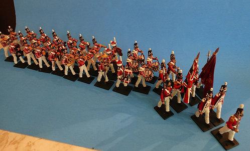 MI-574 - Coldstream Guard Napoleonic Band - Britain's - 54mm Metal - Matte
