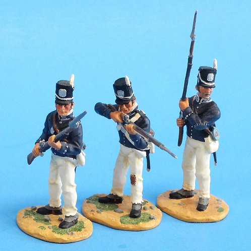 "CORD-A0172 - 7th US Regiment - ""The Cottonballers"" - 3 Figures - (Set 17478)"
