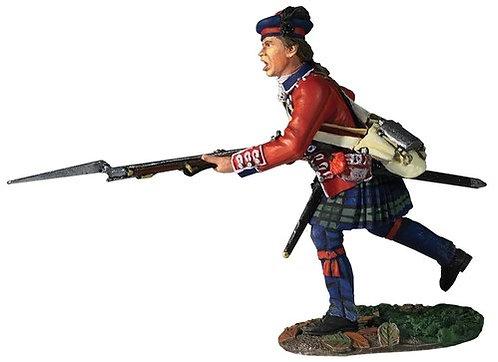 16054 - 42nd Royal Highland Regiment Battalion Coy Charging No.1, 1760-63