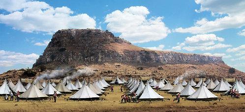 HA51047 - Anglo-Zulu War Scenic Backdrop, Isandlwana, 22 January, 1879