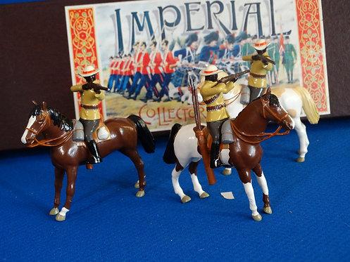 MI-908  - Natal Native Horse 3 Figures - Imperial - 54mm Metal