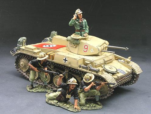 AK030 - Panzer II Tank Set
