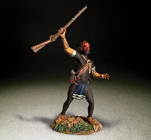 16088 - Native Warrior Yelling War Cry