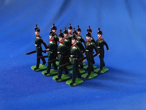 COMS-81 - King's Royal Rifle Corps 1908 - 12 Figures