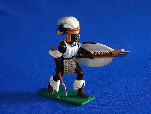 MI-892 - Zulu Warrior - Trophy - 54 mm Metal - No Box