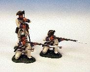 IFW.6 - 2 Kneeling Firing, 1 Standing Loading, Roussillon Royal Regiment