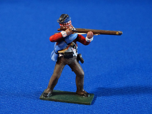 CORD-RA0453 - British 71st Highlander Firing - AWI - Soldiers of the Wor