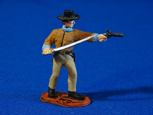 CORD-C043 - Confederate with Sword and Pistol  - ACW - Unknown Manufacturer - 54
