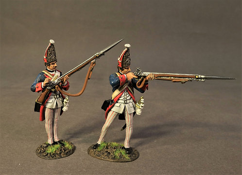 SVSP-06 - 2 Grenadiers,  Von Specht Regiment, the Battle of Saratoga