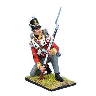 MB090 - British 30th Regt of Foot Grenadier Kneeling Ready #5