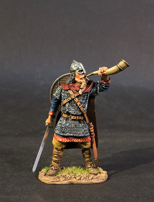 VIK-03 - Warrior Blowing Gjallarhorn