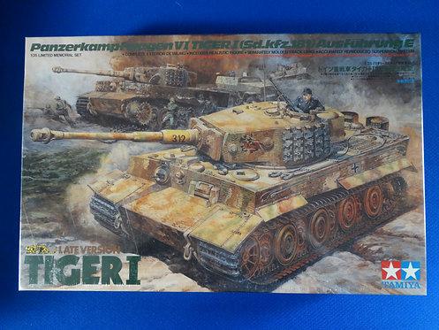 COJG-172 - German Tiger I Tank Late Version - German WWII - Tamiya 1/35 - Plasti