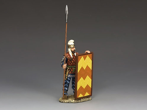 AG024 - Persian Spearman Standing Ready - KC