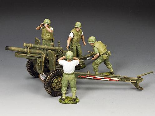 VN075 - The USMC Artillery 105mm Howitzer & Crew Set