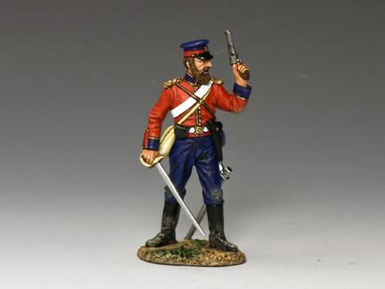 CR001 - Officer with Pistol & Sword
