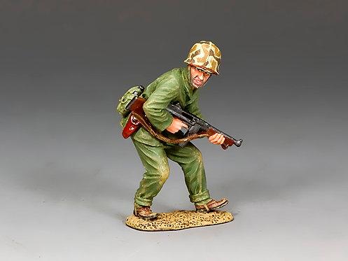 USMC035 - Crouching Tommy-Gunner