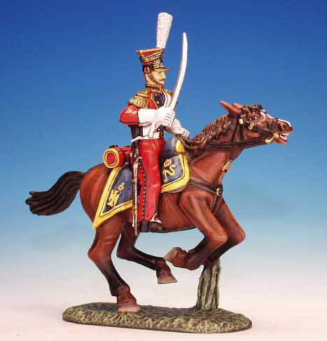 RL.5. - Trooper Armed with Sword at Ready, Dutch Red Lancers