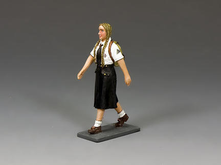 LAH241 - Marching BDM Girl with Backpack (Blonde)