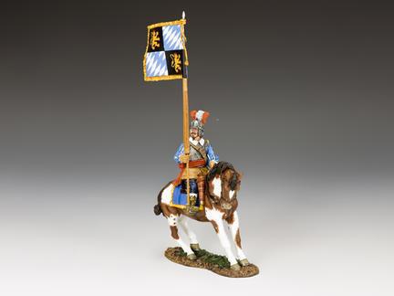 PnM059 - Royalist Mounted Flagbearer, The English Civil War