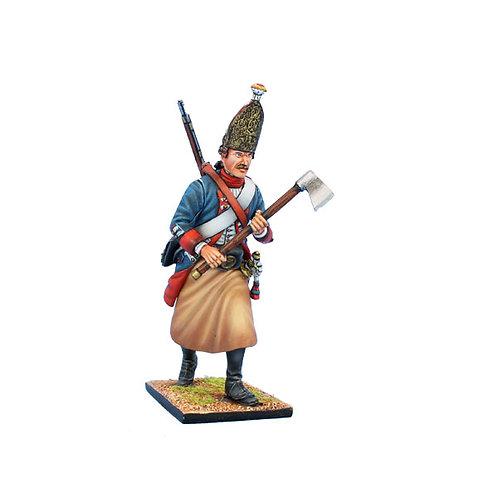 SYW051 - Prussian Grenadier Sapper Advancing