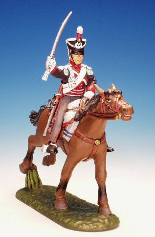 23LD.1. - Trooper Sword to Right, 23rd Light Dragoons