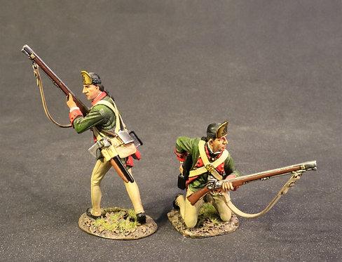 "BUTT-06 - 2 Rangers Skirmishing, ""the Destrusctives"""