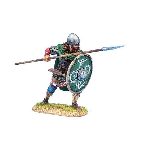VIK016 - Viking Warrior Shieldwall with Spear