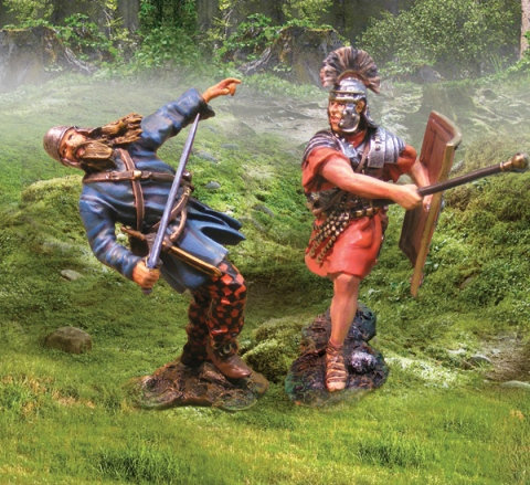 CS00634 - Roman Attacking Celt