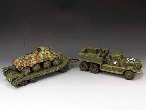 DD318-S04 - Diamond T plus WS197 Sd. Kfz. 234/1 Schwerer Panzerspahwagen