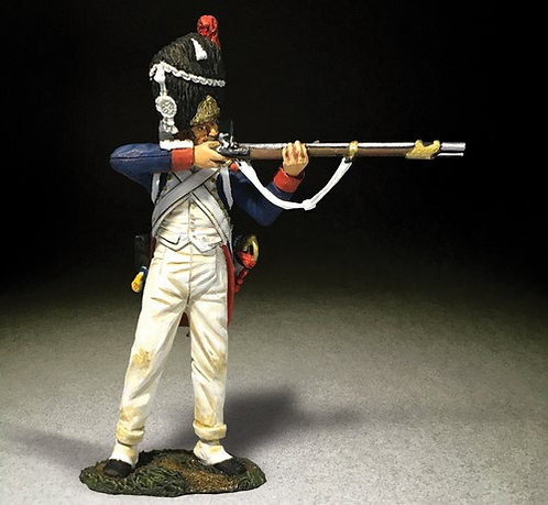 36176 - French Imperial Guard 3rd Rank Standing Firing