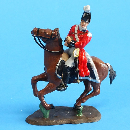 CORD-N1010 British Officer - Mounted - Napoleonics - Unknown Manufacturer - 54mm