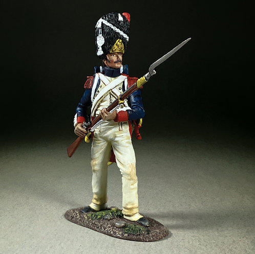 36187 - French Imperial Guard Standing Defending