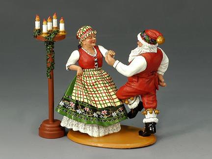 XM009-02 - Mr. & Mrs. Claus having fun!