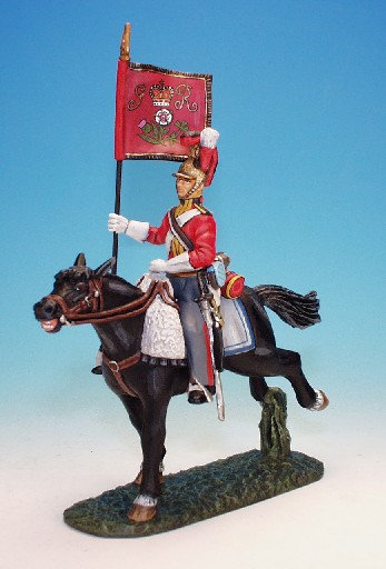 1FG.7. - Standard Bearer with Standard, 1st Life Guards