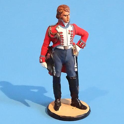 MI-478 - British Officer - Napoleonic - Russian Made - 54mm Metal - No Box