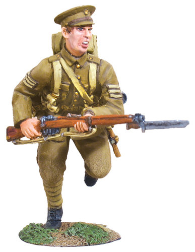 23002 - 1914 British Infantry NCO Charging No.1