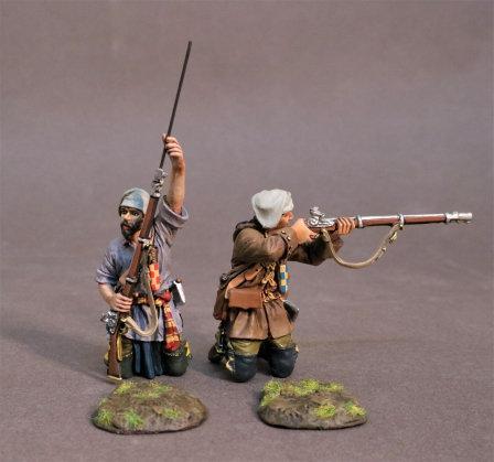 MF-09W - Trois Rivieres Brigade, 2 Militia (2pcs)