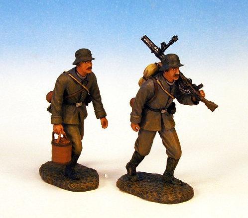 GST.2 - Lewis Gun Crew Advancing, 2 Figures, British Storm Troopers