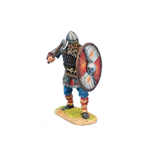 VIK018 - Viking Warrior Shieldwall with Axe