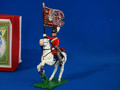 WA51G - Guidon Bearer on Galloping Horse, Scots Greys - Napoleonic - Trophy