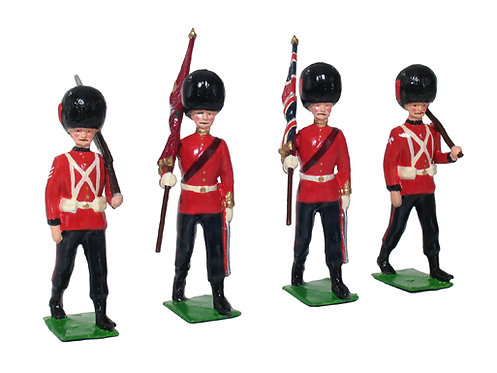50000C- 1907 Half-Booted Coldstream Guards Marching Command Set (gloss)
