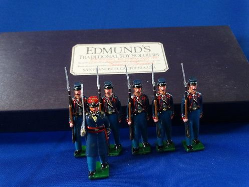 MI-721 - 8th Missouri Volunteer Infantry - ACW - Edmunds - 54mm Metal - In Box