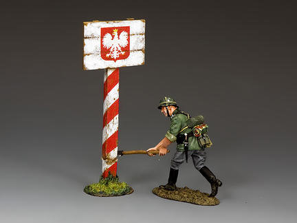 WH086 - Cutting Down the Polish Road Sign
