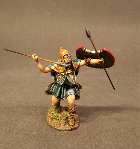 TH-05A - Thracian Peltast, 4th Century BC.