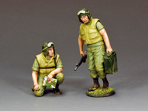 """VN073 - """"Dismounted Armored Crew"""" 2 figures"""