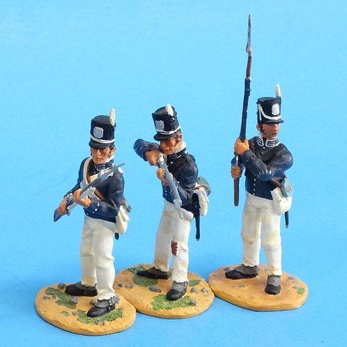 "CORD-A0173 - 7th US Regiment - ""The Cottonballers"" - 3 Figures - (Set 17478)"