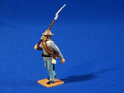 CORD-C008 - Confederate Firing - ACW - Unknown Manufacturer - 54mm Metal - No Bo