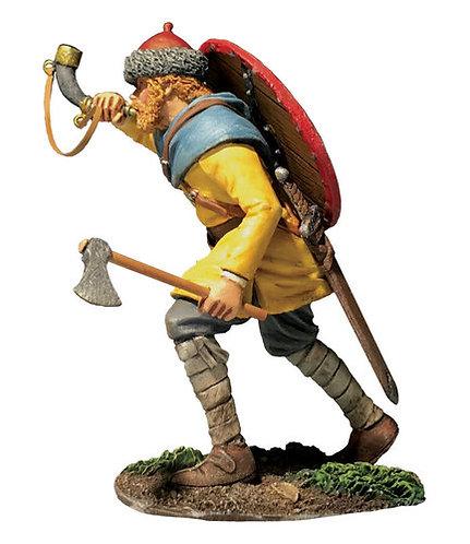 "62132 - ""Arnljot"" Viking Advancing Blowing Horn"