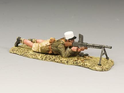 EA055 - Legionnaire Lying Machine Gun
